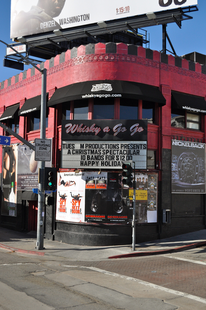 whisky a go-go photo