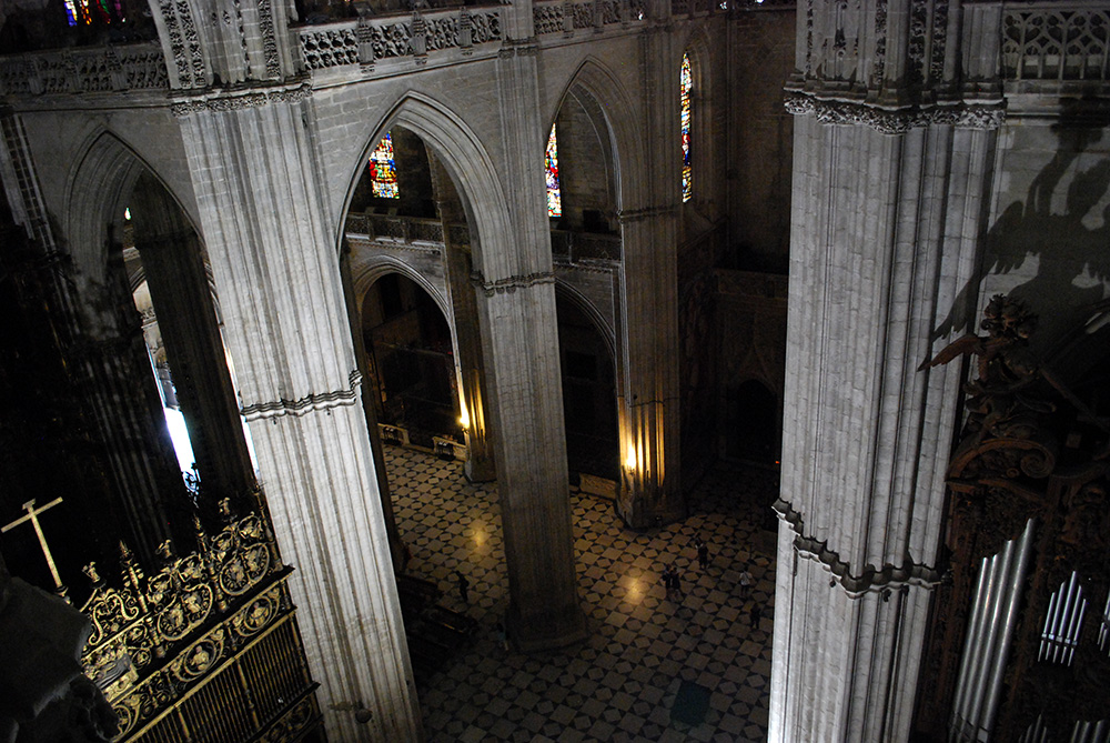 Visita a las cubiertas de la catedral de sevilla obsesi n cumplida be there before - Catedral de sevilla interior ...