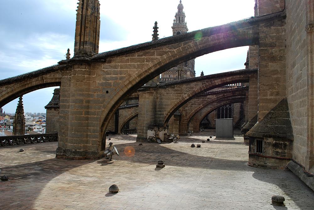Be There Before - Visita a las Cubiertas Catedral de Sevilla 2