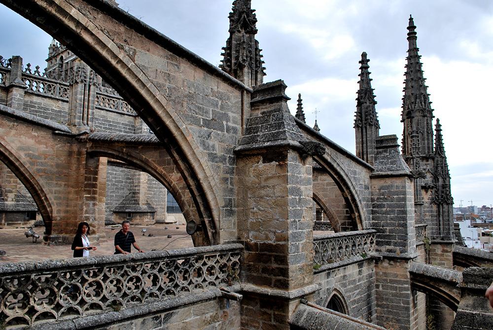Be There Before - Visita a las Cubiertas Catedral de Sevilla 7